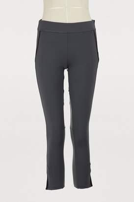 26ea93810341f James Perse Paneled cropped leggings