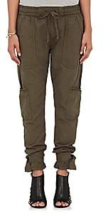 NSF Women's Willow Cotton Canvas Cargo Pants - Olive