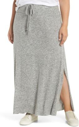 Gibson Fleece Maxi Skirt