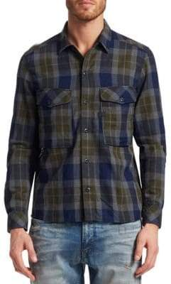 G Star Cotton Check Utility Shirt