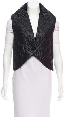 Maiyet Quilted High-Low Vest