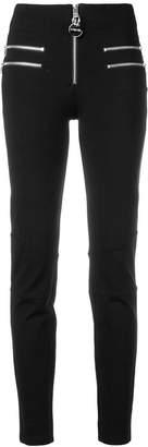 Diesel zip-embellished skinny trousers