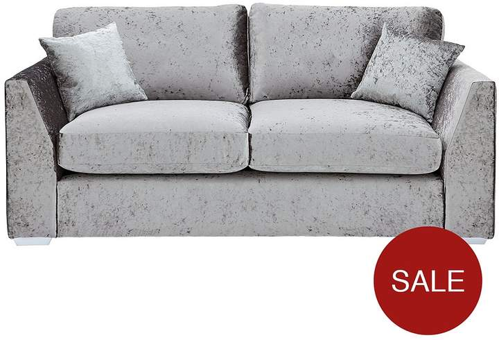 Ideal Home Shimmer 2-Seater Fabric Sofa