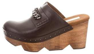 Stella McCartney Vegan Leather Studded Clogs