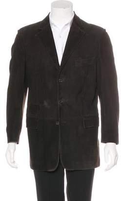 Ralph Lauren Purple Label Suede Sport Coat