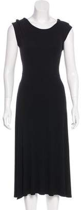 Neiman Marcus Midi A-Line Dress