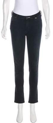 Acne Studios Mid-Rise Straight-Leg Jeans