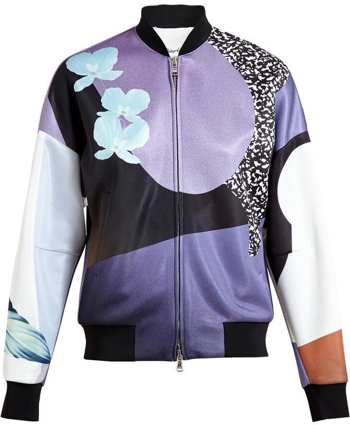 3.1 Phillip Lim3.1 Phillip Lim floral print bomber jacket