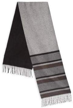 Saks Fifth Avenue COLLECTION Multi-Stripe Scarf