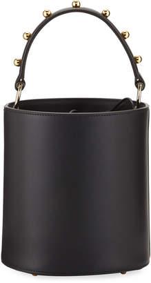 Les Petits Joueurs Olivia Mini Two-Tone Bucket Bag