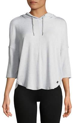 Calvin Klein Three-Quarter Sleeve Hoodie