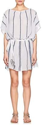 Lemlem Women's Lulu Striped Cotton Cover-Up - White