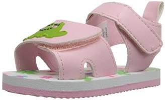 Gerber Girls' Lt Pink Frog Eva K Sandal