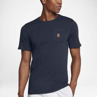 Nike NikeCourt Heritage Pocket Men's Tennis T-Shirt