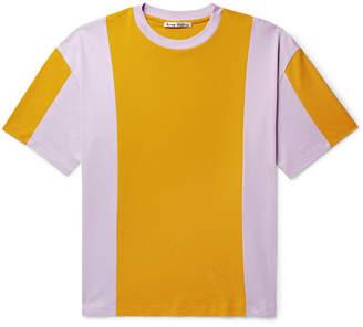 Acne Studios Eban Colour-Block Cotton-Jersey T-Shirt
