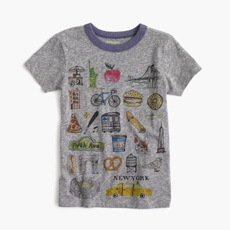 "Boys' ""New York"" destination art T-shirt in the softest jersey $34.50 thestylecure.com"