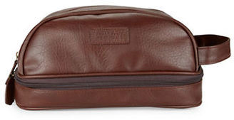 Perry Ellis Water-Resistant Zip-Up Travel Case $21.99 thestylecure.com