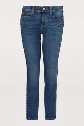Current/Elliott Current Elliott The Caballo Stiletto studded jeans