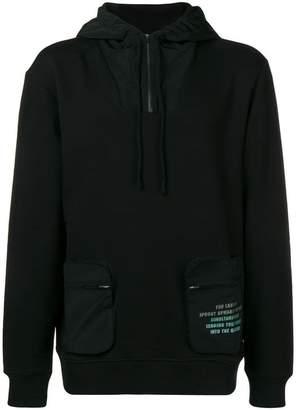 Les Benjamins front pocket hoodie