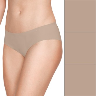 Under Armour Women's 3-pack Pure Stretch Hipster Panty 1325616