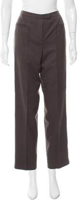 Ralph Rucci Mid-Rise Wool Pants