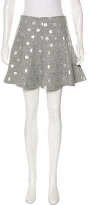 Elizabeth and James Printed Mini Skirt