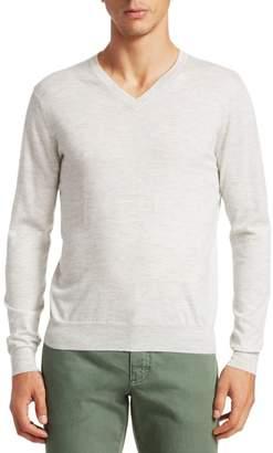 Saks Fifth Avenue Lightweight Cashmere V-Neck Sweater