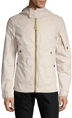 G Star Raw Cotton Hooded Jacket
