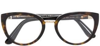 Dolce & Gabbana Eyewear oval frame glasses