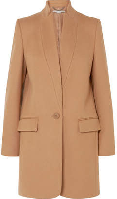Stella McCartney Bryce Melton Wool-blend Coat - Camel