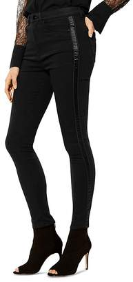 Karen Millen Striped Skinny Jeans