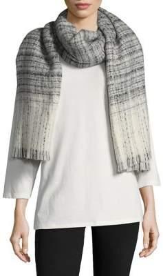 Lauren Ralph Lauren Textured Plaid Wrap