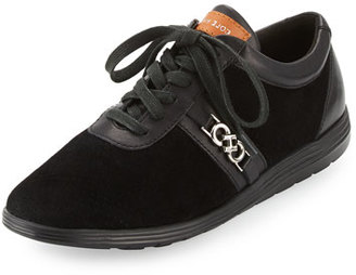 Cole Haan Bria Grand Sport Oxford Sneaker, Black $150 thestylecure.com