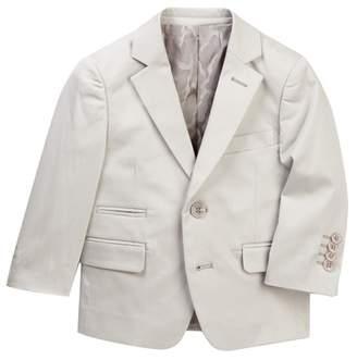 Isaac Mizrahi Solid Cotton Blazer (Toddler, Little Boys, & Big Boys)