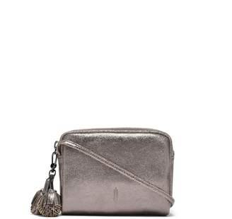 Thacker New York Pompom Bag In Pewter