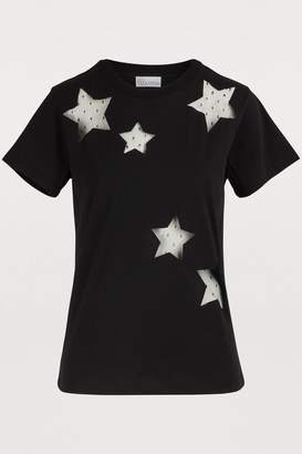 RED Valentino T-Shirt with sheer insert