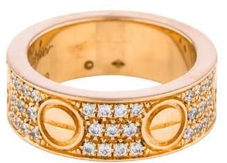 Cartier Diamond Pavé LOVE Ring