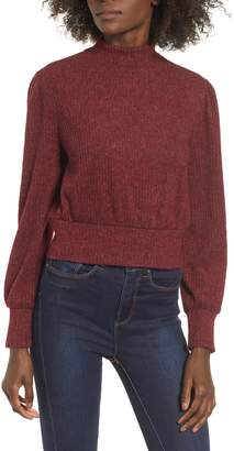 One Clothing Rib Knit Banded Top