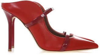 Malone Souliers Maureen Red Leather Pumps