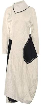Acne Studios Dragica linen-blend dress