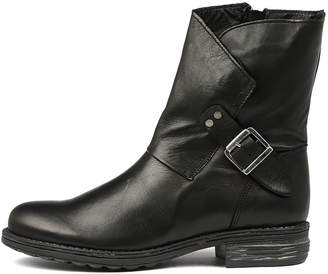 EOS Zilder-w Black Boots Womens Shoes Casual Ankle Boots