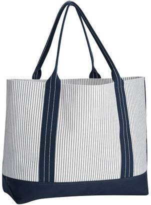 Pottery Barn Take It To Collection Canvas Tote Bag