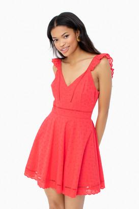 BB Dakota Eyelet Glow Dress