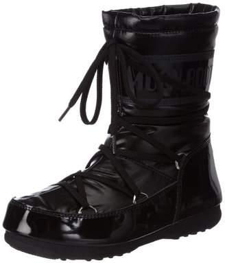 Moon Boot Tecnica M-boot W.e.soft Mid Nero, Women's Snow Boots