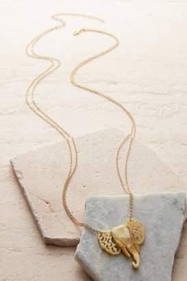Soft Surroundings Elephant Pendant Necklace