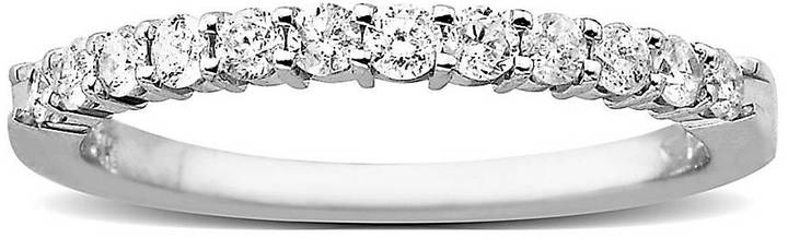 Lord & Taylor Diamond Ring in 14 Kt. White Gold, 0.38 ct. t.w.