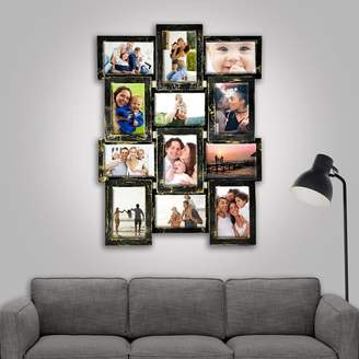 Loon Peak Vinciguerra Gallery Collage Wall Hanging 12 Opening Photo Sockets Picture Frame