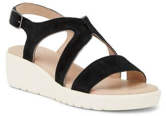 Johnston & Murphy Cora Piped Ankle Strap Sandal