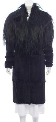 Maison Margiela Fur Long Coat