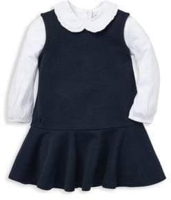 Ralph Lauren Girl's Two-Piece Top& Dress